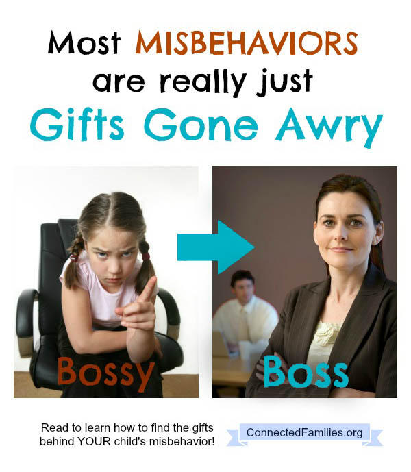 most misbehaviors are really just gifts gone awry